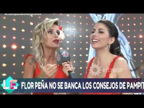 """FLOR PEÑA LE RESPONDIÓ A PAMPITA: """"ELLA ES MÁS FRÍA Y CALCULADORA"""""""
