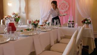Свадьба Новосибирск. Банкетные залы в парк-отель Сосновый бор