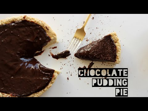 Healthy Chocolate Pudding Pie Recipe | How To Make A Low-Fat Chocolate Pudding Pie