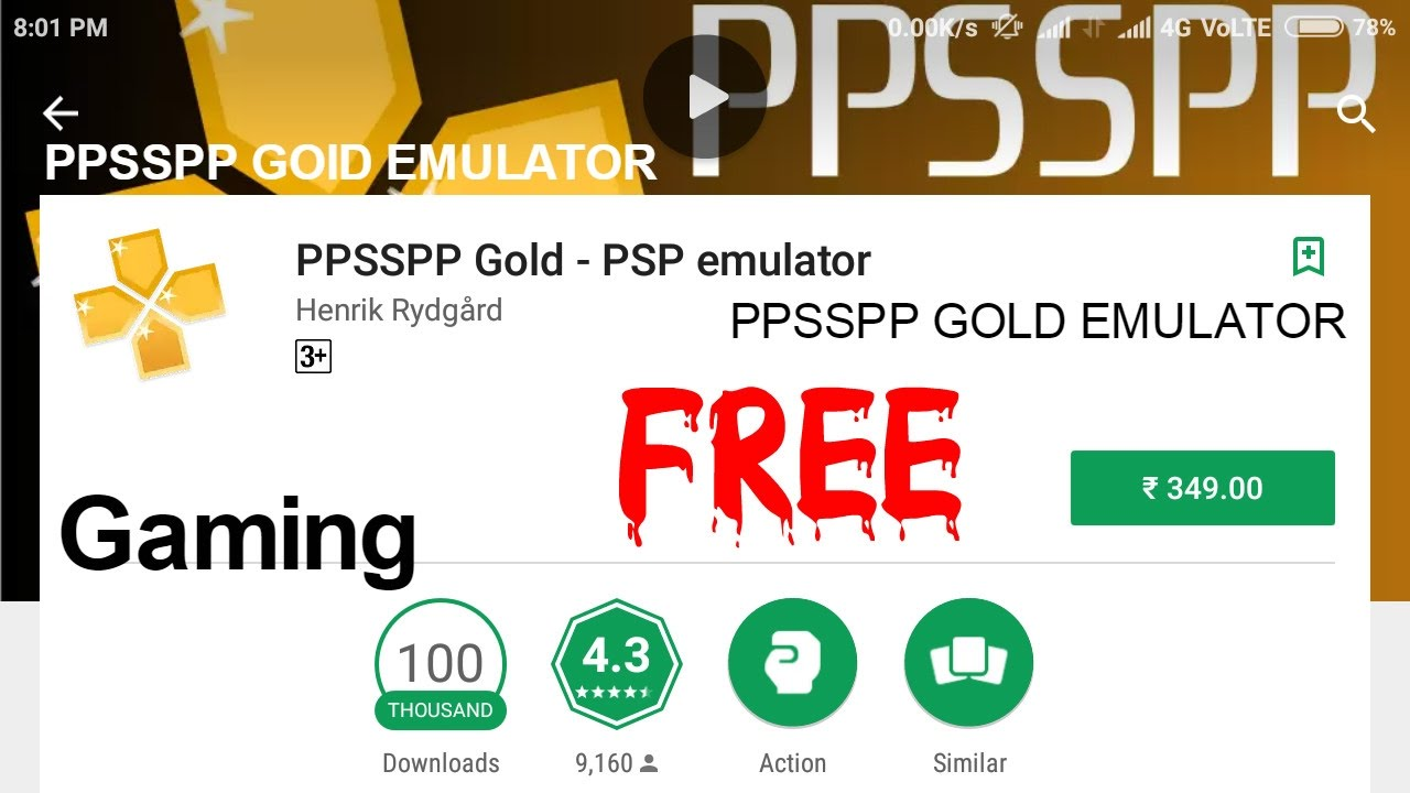 easiest way to download ppsspp gold psp emulator for android