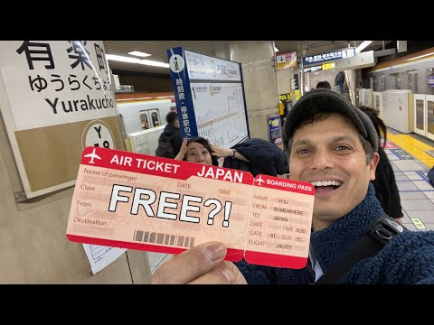 Amazing 100,000 Free Flight Tickets From Japan Airlines — Explained