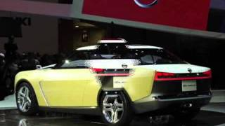 All New 2013 Nissan IDx Freeflow Concept (2013 Tokyo Motor Show)