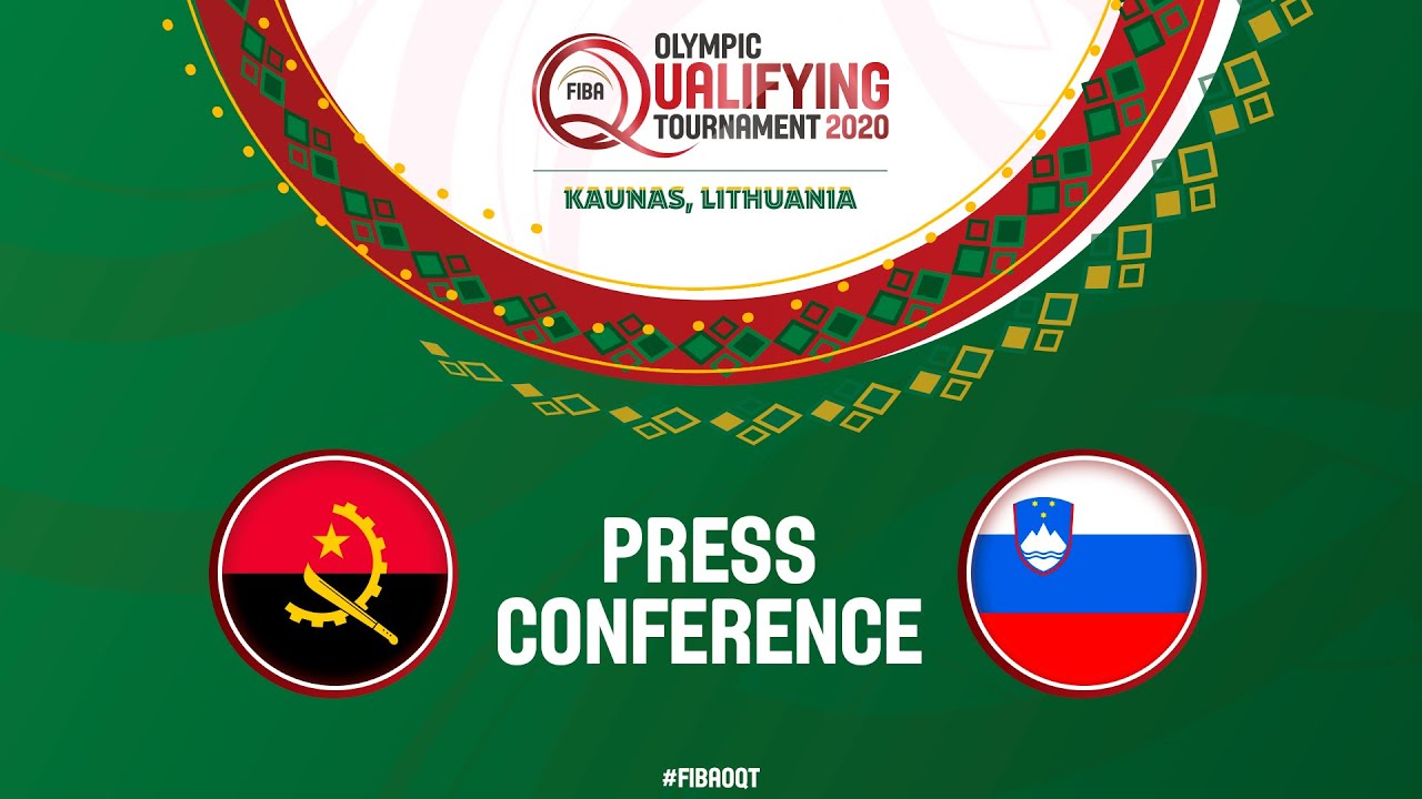 Angola v Slovenia - Press Conference