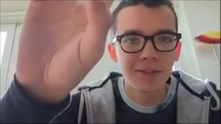 Asa Butterfield - Periscope 2 10-12-2016
