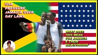 usa pressure Jamaica over gay laws