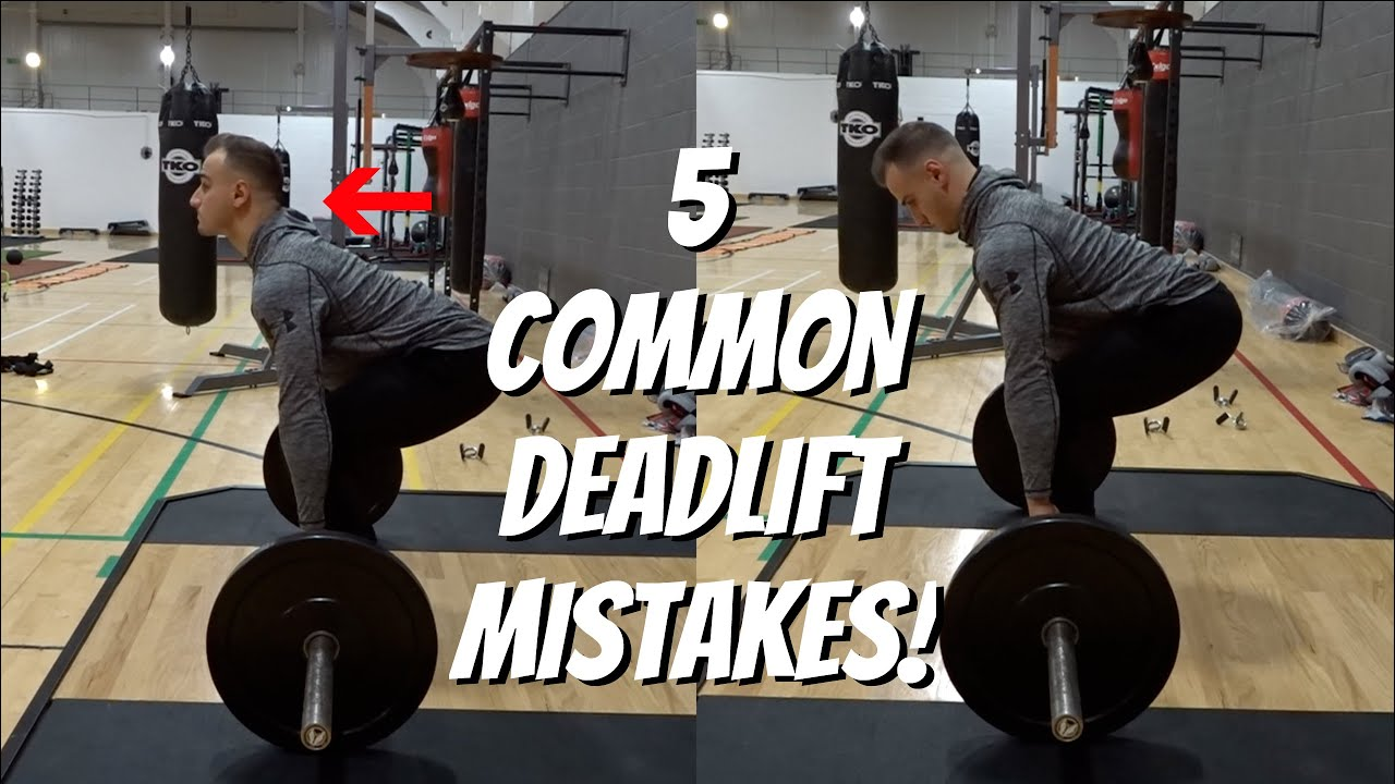 5 Common Deadlift Mistakes! - YouTube