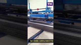 Auto Stacker for Two Waves Highway Guardrail Machine
