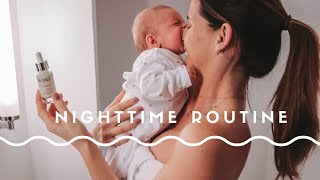 MY EVENING ROUTINE WITH NEWBORN BABY | CARLY ROWENA