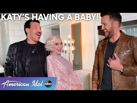 Katy Perry Shares Her Pregnancy News With The American Idol Family - American Idol 2020