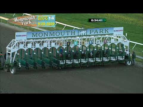 video thumbnail for MONMOUTH PARK 09-20-20 RACE 14