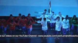 """Maa Tujhe Salaam"" - Performance by students of Ridge Valley School, Gurgaon, Haryana"