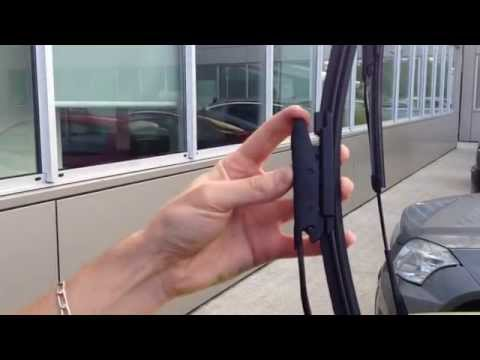 Citroen C3 picasso : Changer les essuis-glace avant