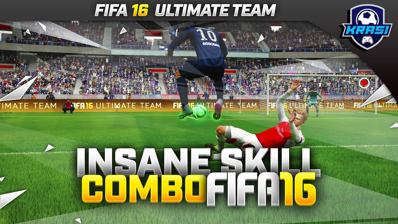 FIFA 16 INSANE SKILL COMBO TUTORIAL - THE FAKE STOP & HOP MOVE / ULTIMATE  TEAM & H2H GUIDE