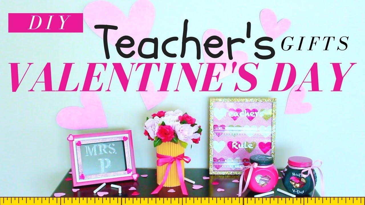 Diy Valentine S Day Gifts For Teachers Diy Valentine S Day Gifts
