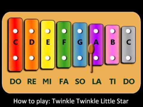 Xylophone xylophone chords twinkle twinkle little star : Little Xylophone - Twinkle Twinkle Little Star - YouTube