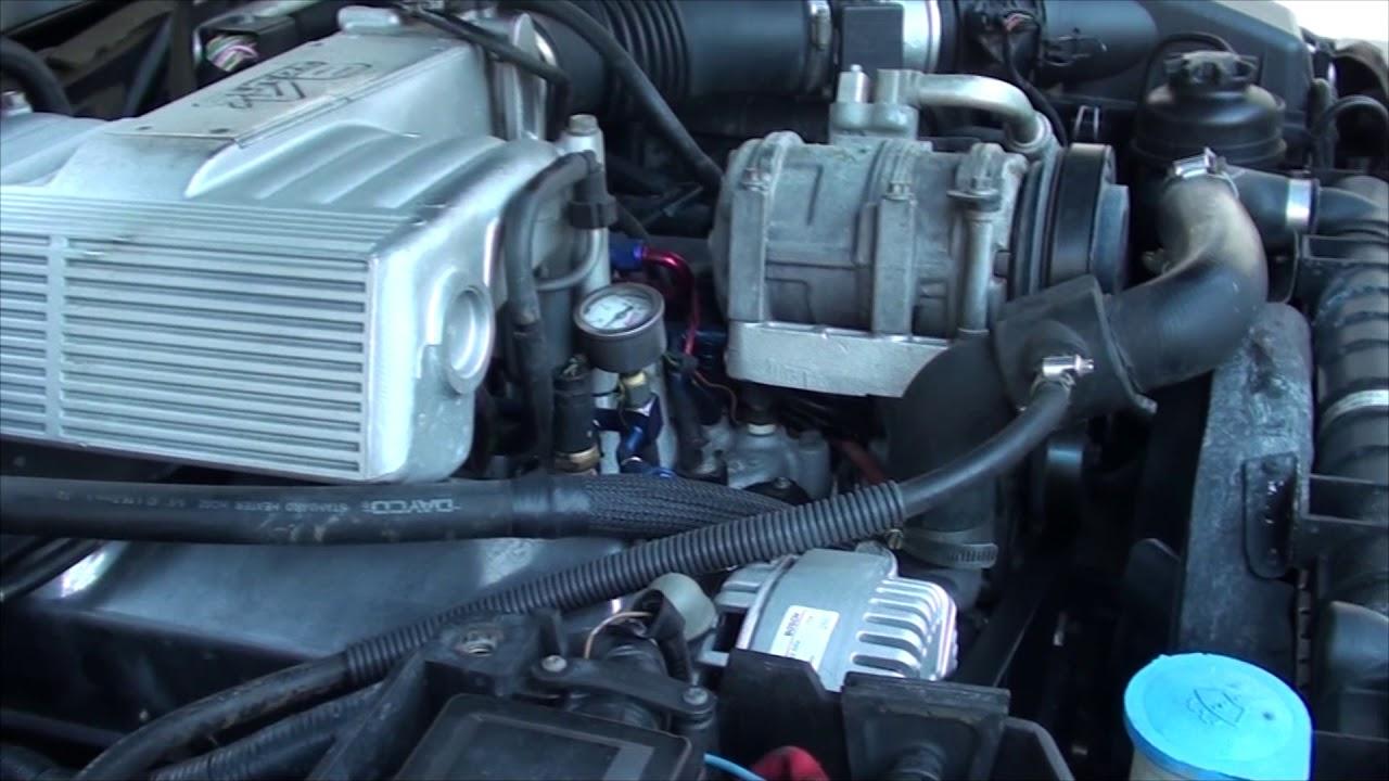 P38 Range Rover Ford V8 conversion