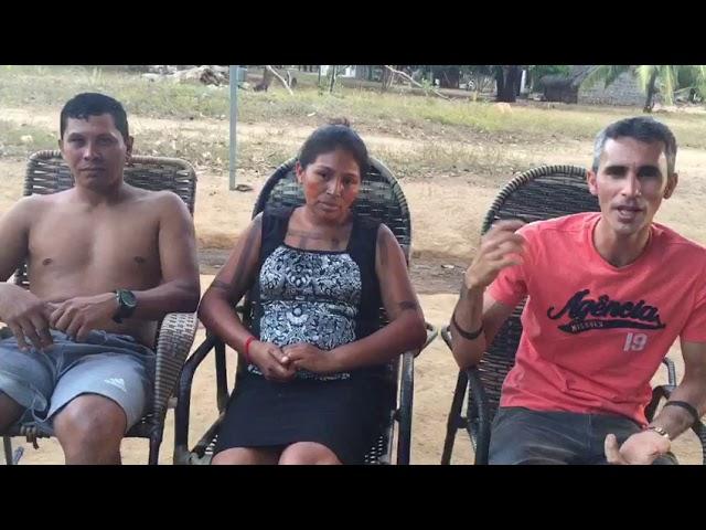 Pr. Cláudio Mota - Tribo Xerente no Tocantins.