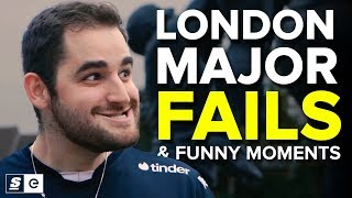 FACEIT London Major Fails and Funny Moments
