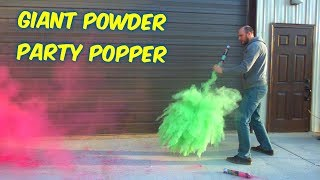Giant Powder Party Popper