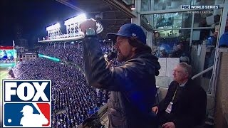 eddie vedder sings take me out to the ballgame at cubs world series