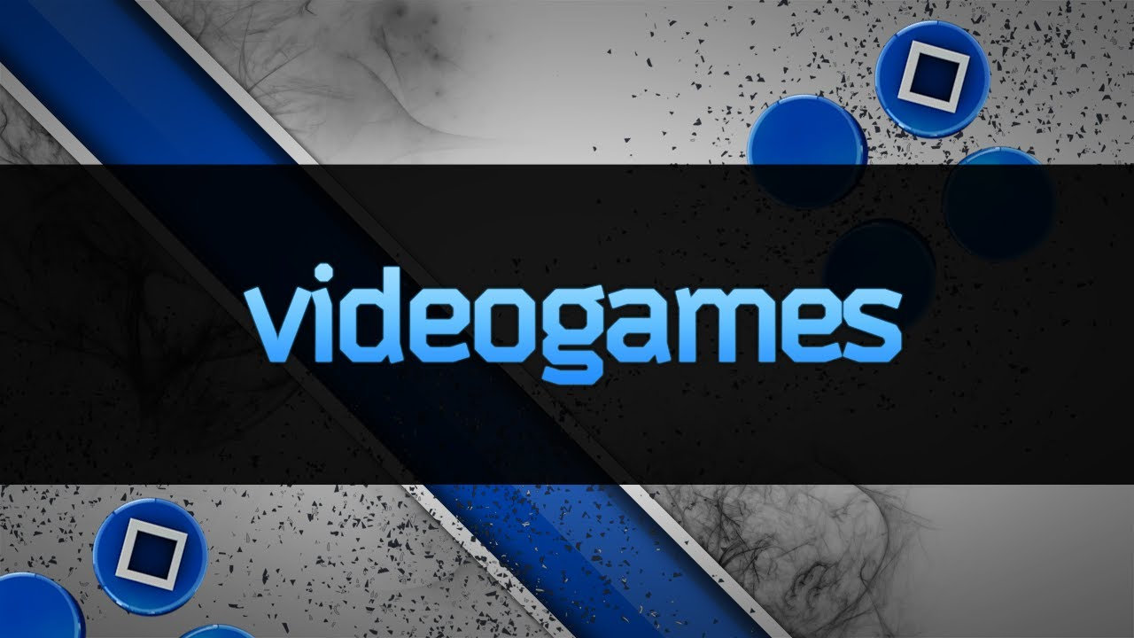 VideoGames Channel Background (Speed Art) - YouTube
