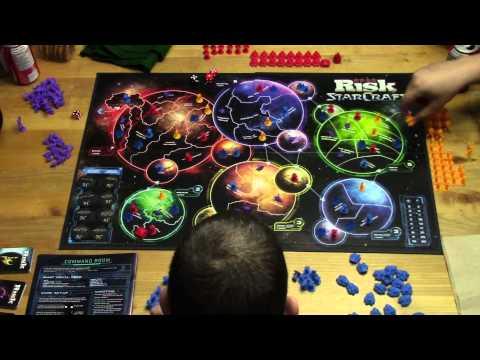 Starcraft Risk battle report 2 part 1