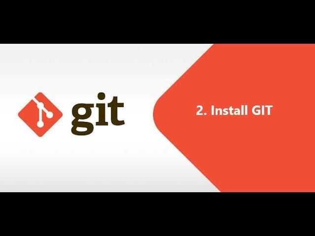 2. install git
