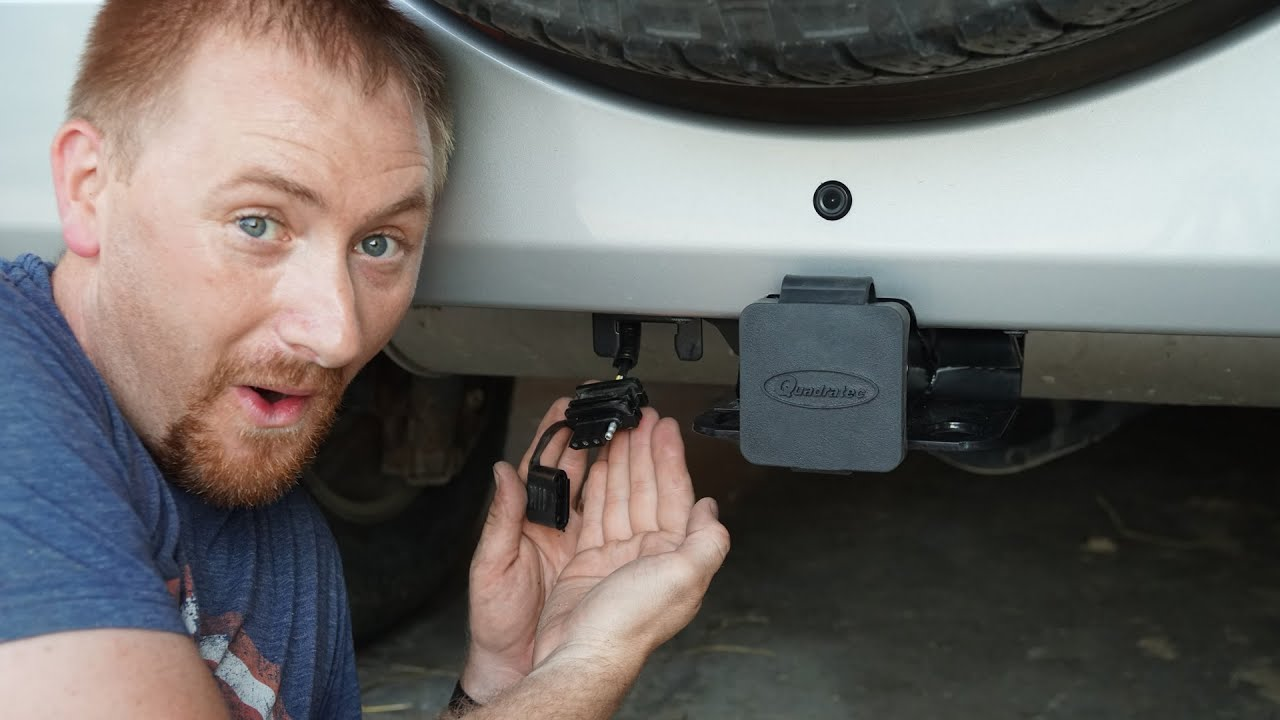 trailer harness wiring diagram 1994 ford ranger stereo jeep wrangler jk install youtube