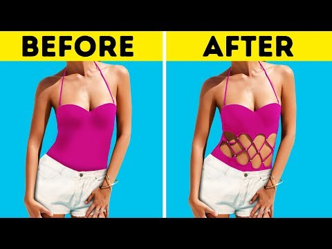 37 CLOTHES HACKS FOR THE HOTTEST SUMMER
