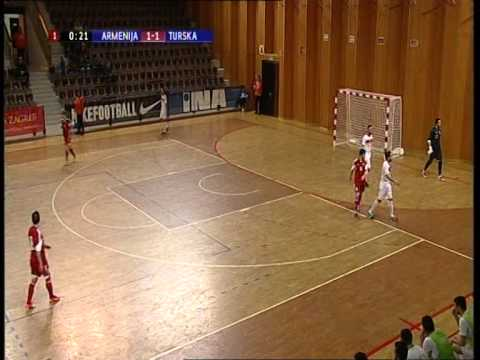 Turkey Armenia futsal 21-03-2015 Dubrovnik Part 1
