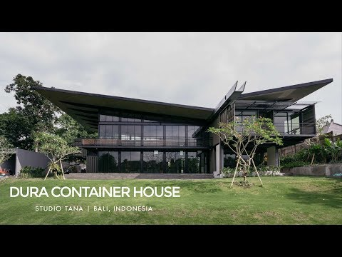 Dura Container House by Studio Tana in Bali, Indonesia