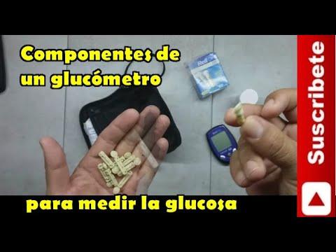 componentes-de-un-glucómetro-para-medir-la-glucosa