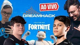 🔴 DreamHack Fortnite 🔔 Cobertura e Torcida do BRASIL!