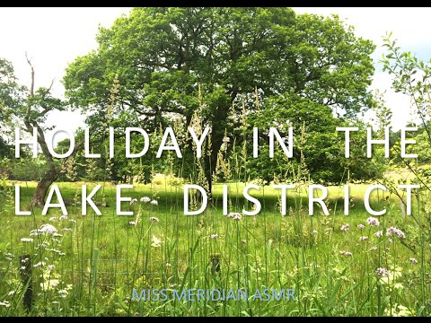 Come on holiday with me! | Intimate whispered description of Lake District, nature, rivers. ASMR.