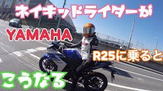 【女子ツー】Vol.14 うさ耳大暴走!ネイキッドライダーがR25に乗るとこうなる。
