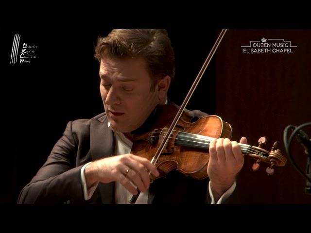 Mendelssohn - Concerto pour violon, piano et cordes - R. Capuçon, ORCW, F. Braley - LIVE