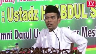 Umar bin Khatab memikul gandum - Ustadz Abdul Somad Lc MA