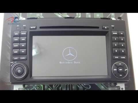 Обзор штатной магнитолы Smarty Trend TD4701500-093 для Mercedes Benz A-Class, Sprinter, Viano, Vito