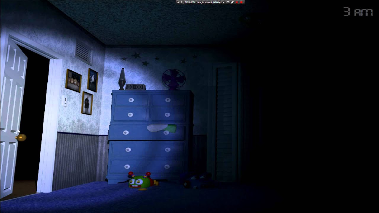 Fnaf 4 Nuit 1 Youtube