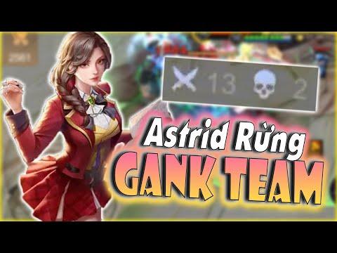 [Liên Quân] Cầm Astrid Đi Rừng Vừa Trâu Vừa Khoẻ Gank Cả Đội Hình - Khiên Team Bạn Phải Sợ Hãi