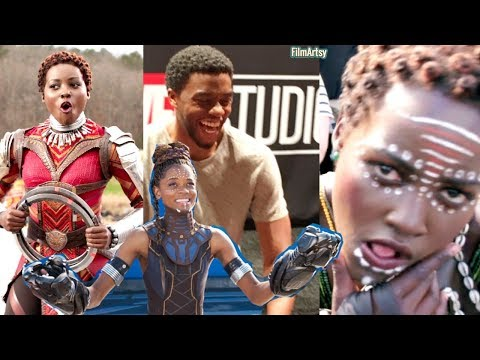 Black Panther Bloopers and Gag Reel