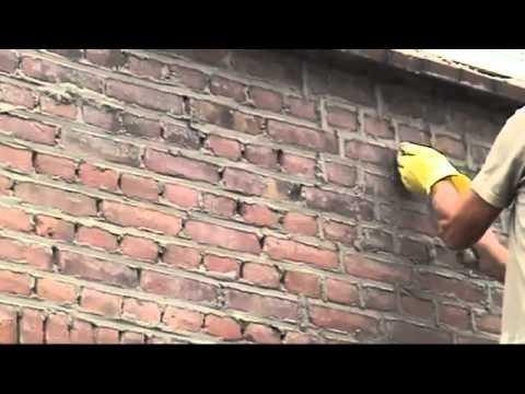 видео: Затирка кирпича и плитки.mp4