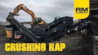 Video still for Crushing RAP  - Recycled Asphalt Pavement