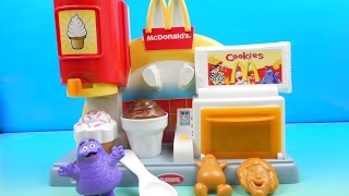2000 McDONALDS McSNACK CENTER ELECTRONIC PLAY SET By PLAYSKOOL VIDEO TOY REVIEW