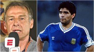 Diego Maradona was aฑ artist on the football field – Jürgen Klinsmann | ESPN FC