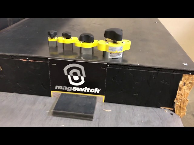 MagJig 60, 95, 150, and 235 Strength Test | Magswitch Technology
