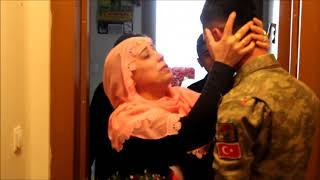 Askerin Annesine Süprizi ( Duygusal Asker Videosu