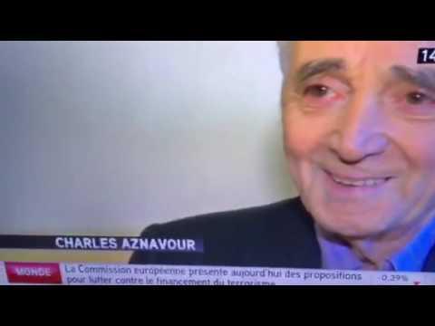 Charles Aznavour chante encore a 92 ans ce soir