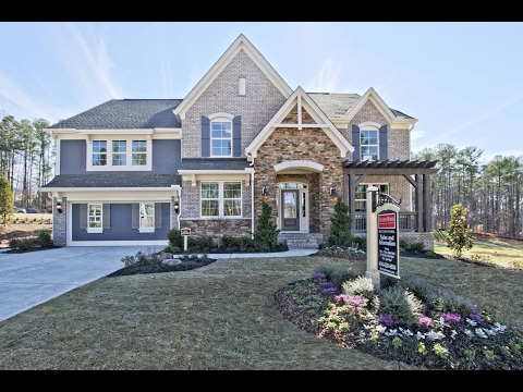The Paxton Floorplan by Fischer Homes | Model Home in West Cobb, GA