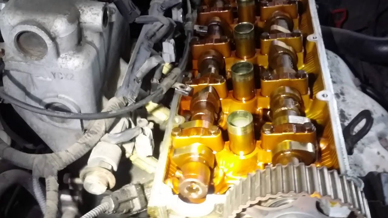 Hyundai Elantra: Timing Belt. Repair procedures